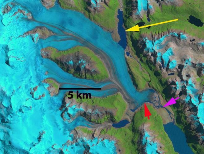 colonia glacier 1999