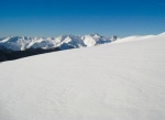 May 1 2013 Easton Glacier with Twin Sisters in background