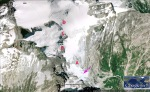 2006 Neve Glacier-Google Earth