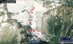2009 Neve Glacier-Google Earth