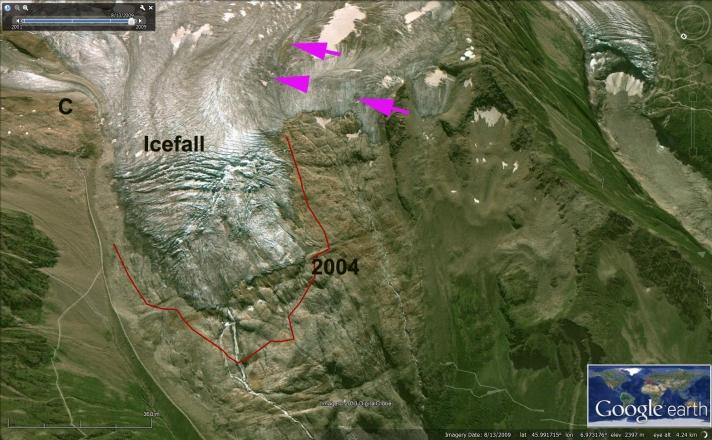 tour de glacier 2009