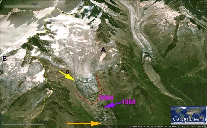 tour de glacier ge
