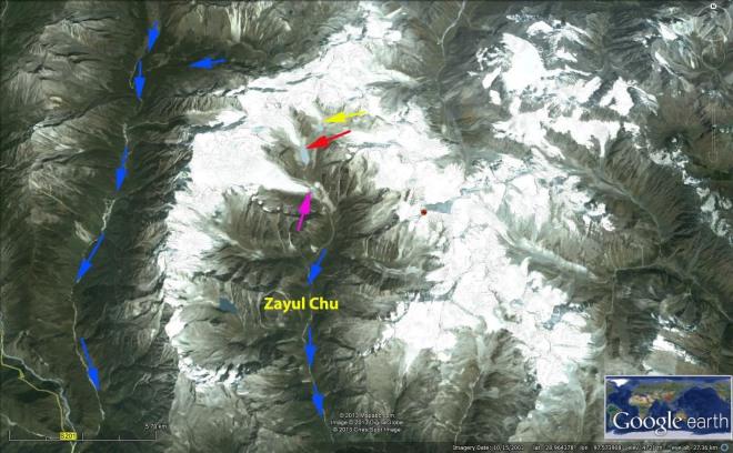 zayul chu map