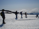 Ablation stake on Easton Glacier