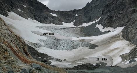 Columbia Glacier on Aug. 20
