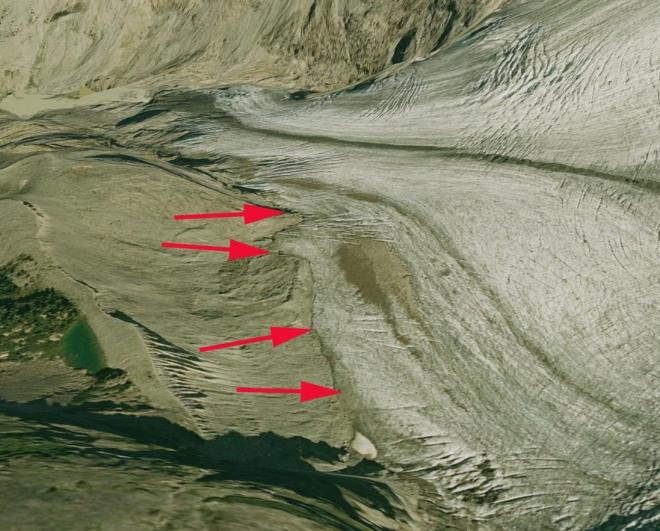 conrad glacier margin