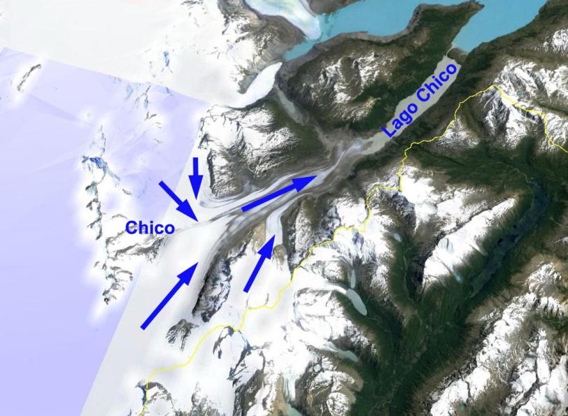 glaciar chico  ge