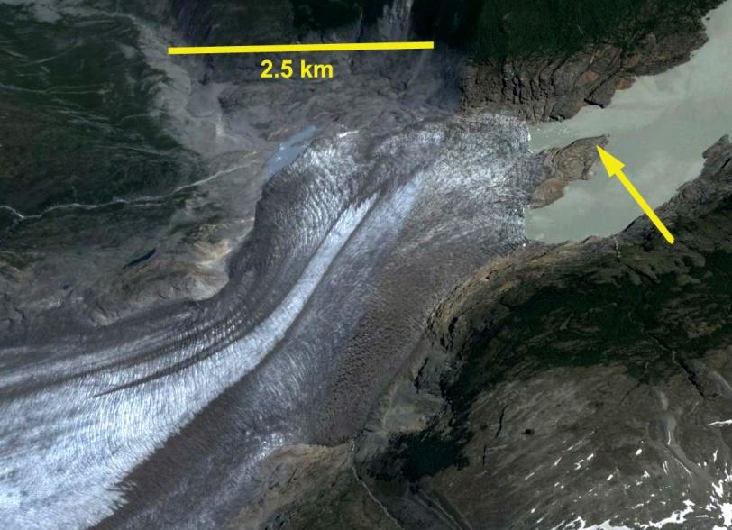 glaciar chico terminus