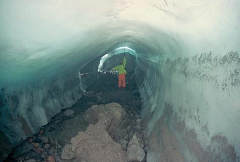 glacier tunnel-esker