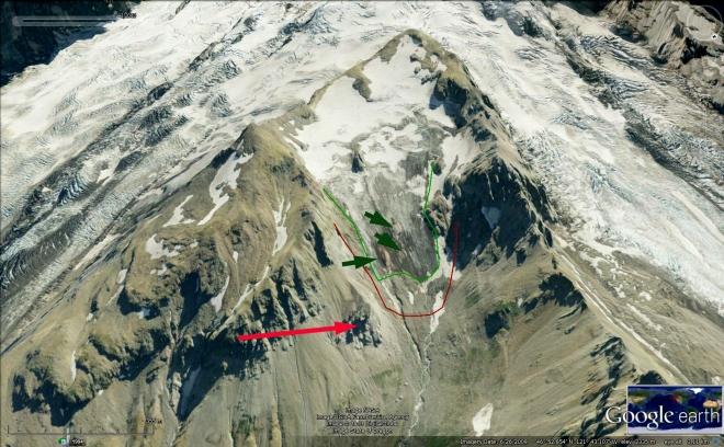 inter glacier 2009