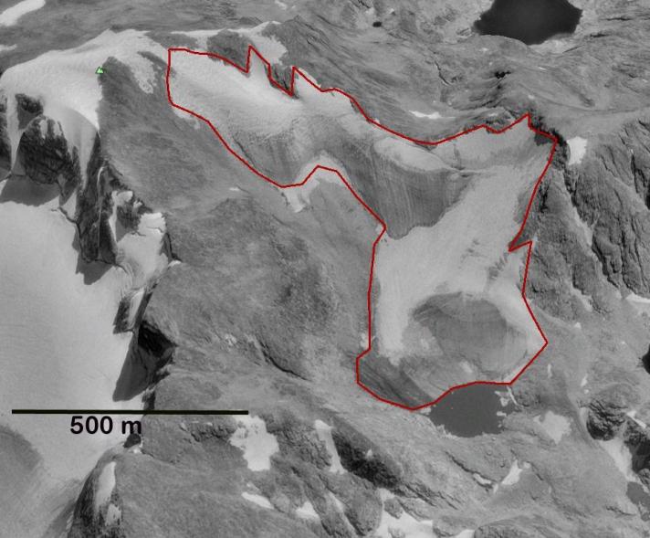 J glacier 1994