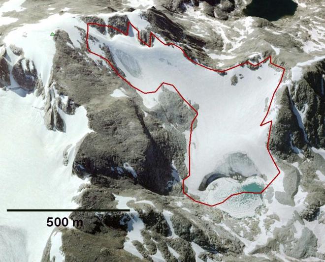J glacier 2009