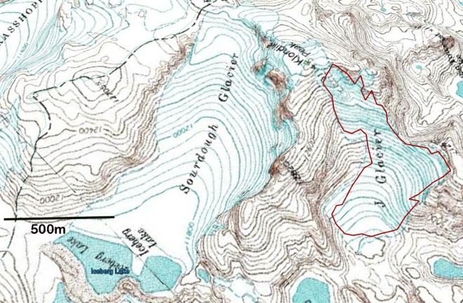 j glacier map