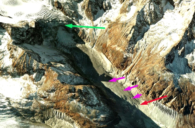 mont mine icefall