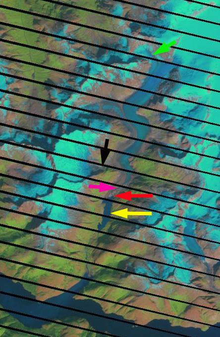 north dawes glacier 2005