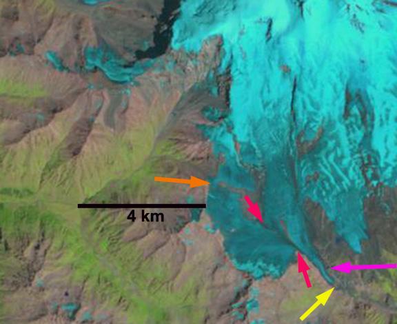 azau glacier 1998