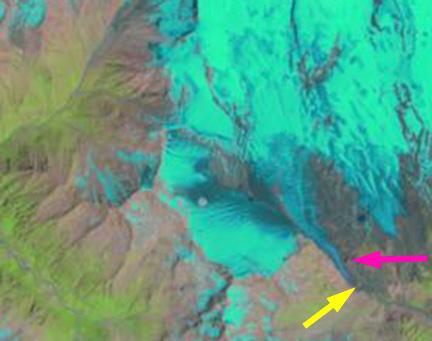 azau glacier 2001