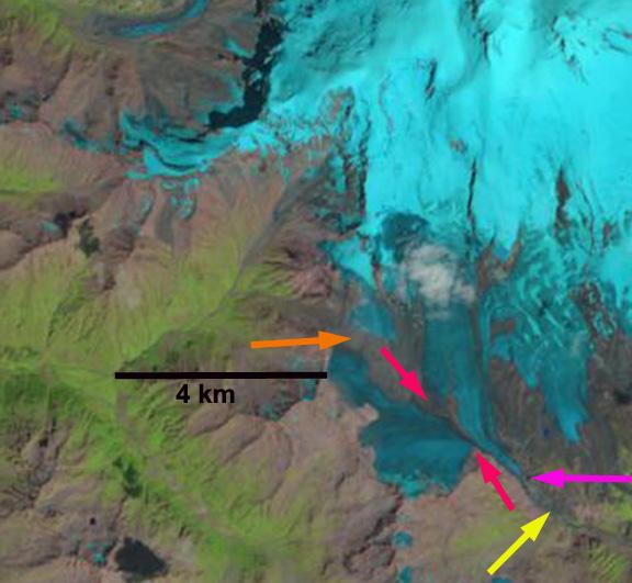 azau glacier 2013