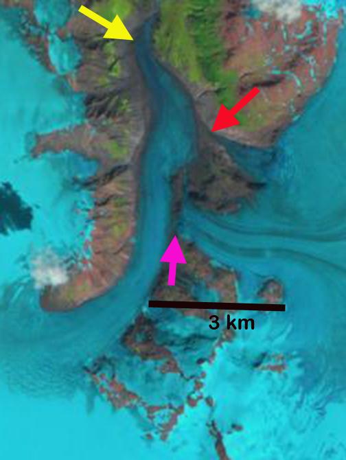 bromley glacier 1997