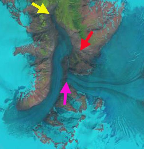 bromley glacier 2010