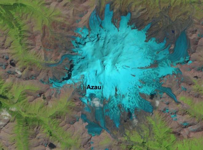 elbrus glaciers