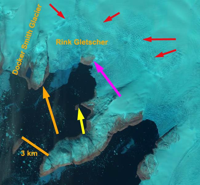 Rink glacier 2013