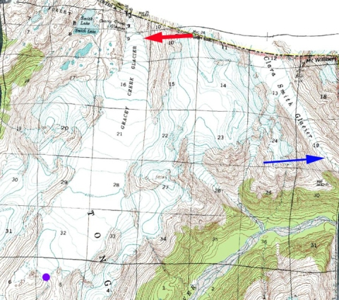 gracy creek map