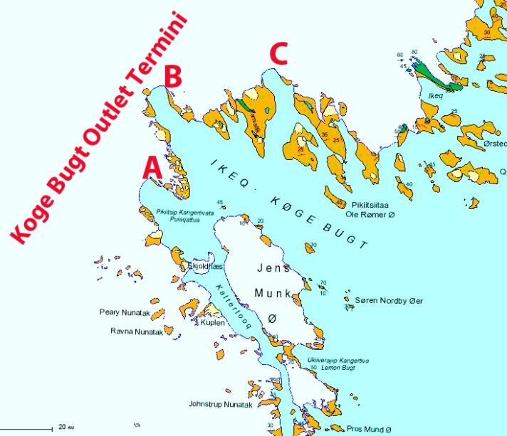 koge bugt map