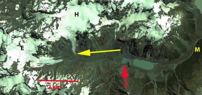 lyell glacier ge