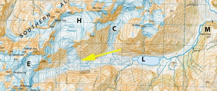 lyell map