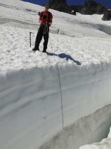 easton crevasse depth