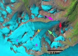 hoboe glacier 1984