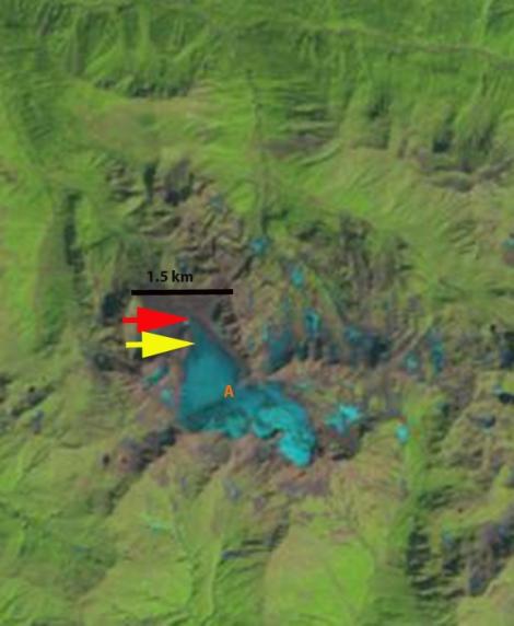 khimsa glacier 1998
