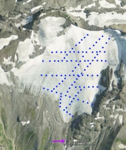 sholes glacier network