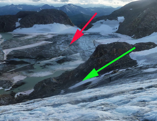 white river glacier 2013