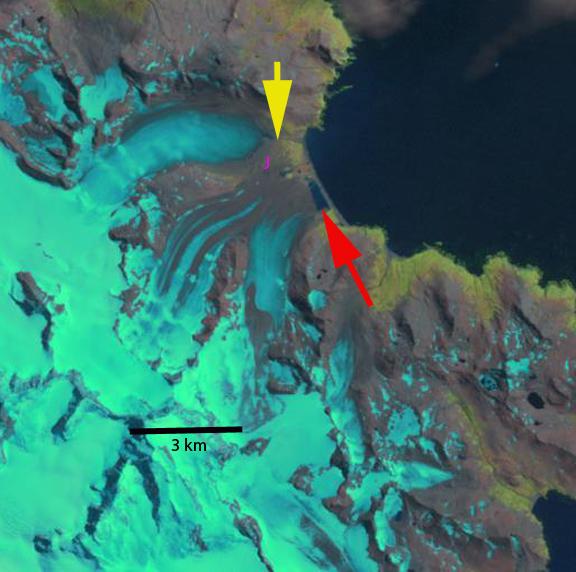 heaney glacier 2002