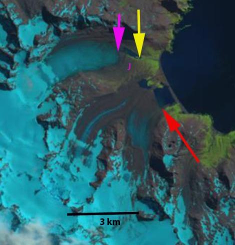 heaney glacier 2014