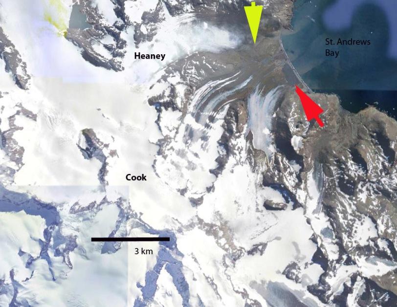 Heany Glacier ge