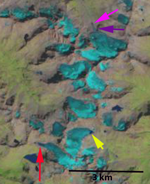kluhor Glacier 1998