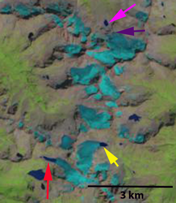 kluhor glacier 2013