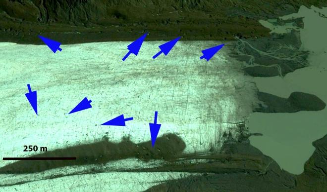 purvis glacier terminus