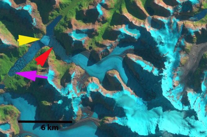 reicher glacier 1998