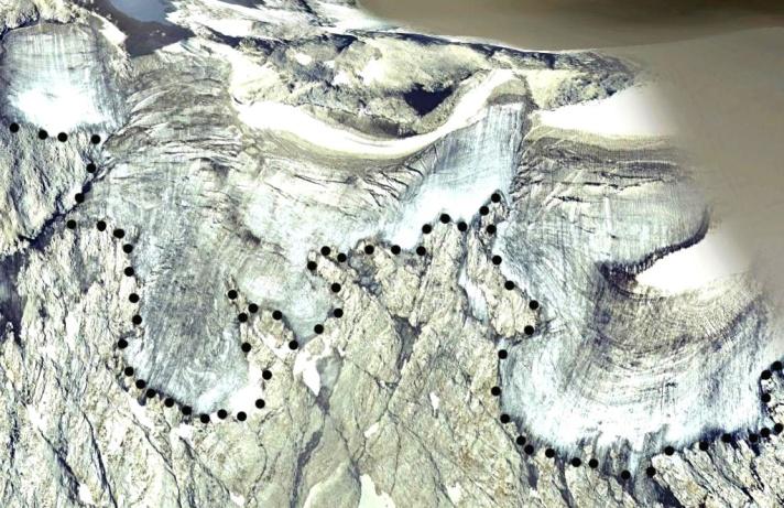 aneto glacier 2005