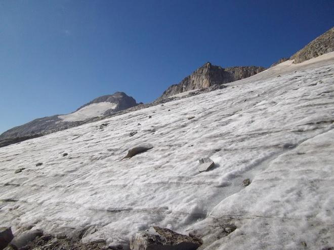aneto glacier slope