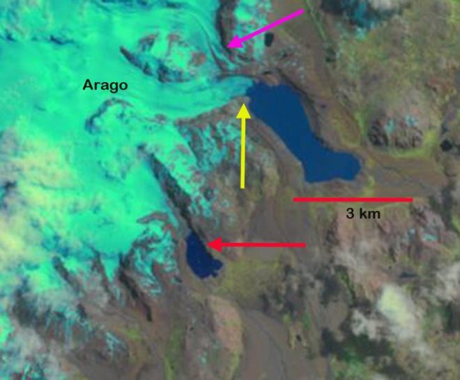 arago glacier 2011