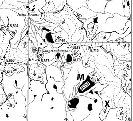 mande chu map