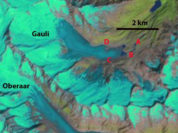 gauli glacier 2002