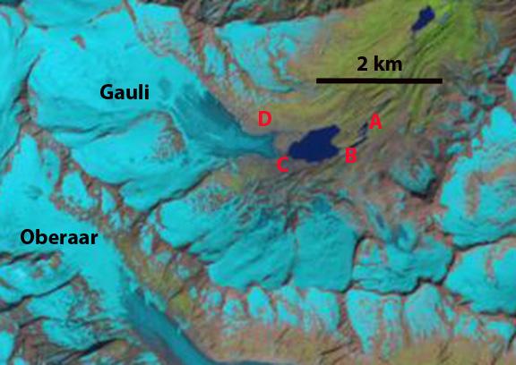 Gauli glacier 2013