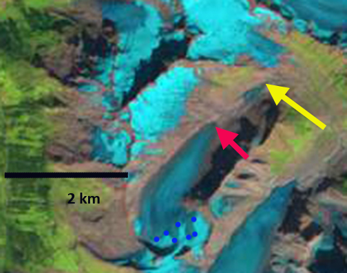 haworth glacier 2013