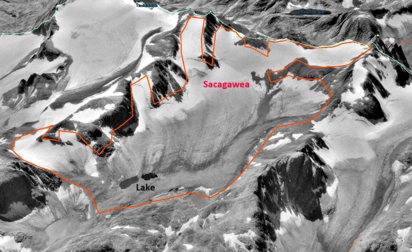 Sacagawea Glacier 1994